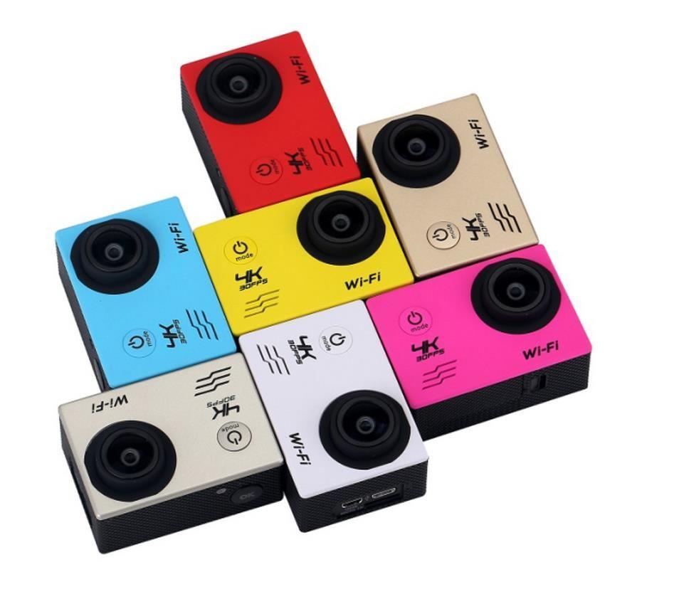 5pcs Ultra HDV3 4K WiFi Waterproof Action Cam Camcorder Recorder 2.0 LCD 16MP Full HD 1080P Action Sport Camera DV DVR Multicolor