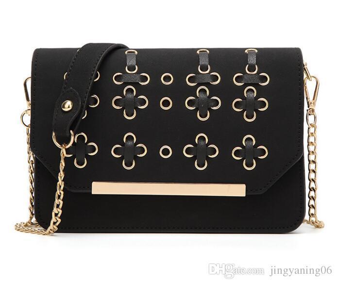 2017 neue mode handtaschen handtaschen von hoher qualität reine farbe kleines paket bambus allgleiches einzelnen umhängetasche handtasche flut