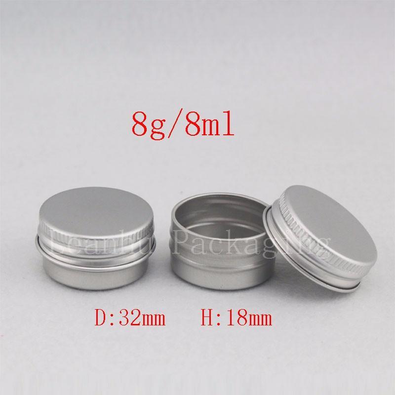 8g aluminum jar with screw lid (1)