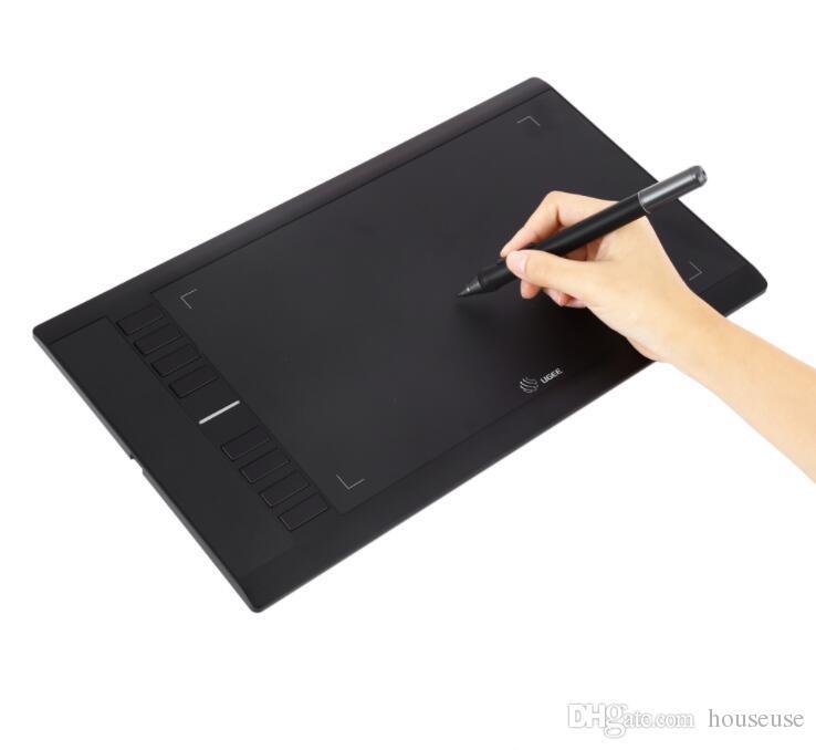 """M708 10x6 """"Smart Tablet Desenho Tablet Digital Tablet Assinatura Pad + Desenho Livre Caneta para Escrever Pintura Pro Designer"""