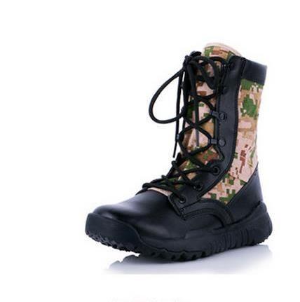 الرجال الأحذية التكتيكية العسكرية الأمريكية مكافحة الشتاء الصحراء التمهيد المشي أحذية الرجال مجموعة أحذية زوجين الحجم 37-45