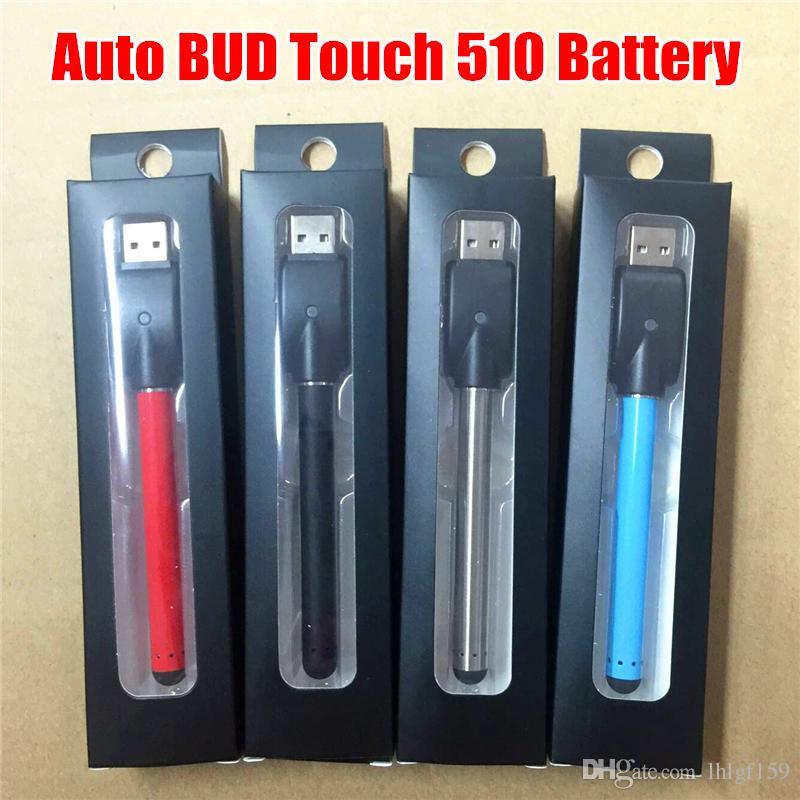 기화기 펜 카트리지 E 담배를위한 USB 충전기 도매 510 버드 터치 O 펜 Vape 오일 배터리