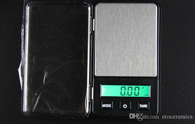미니 디지털 밸런스 전자 디지털 규모 200g 0.1 g 대형 화면 녹색 백라이트 무게 수하물 포켓 주얼리 저울