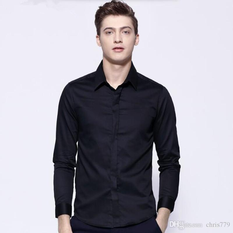 tailor made men suits shirt long sleeve groom wedding tuxedos shirt simple fashion formal business work suits shirt