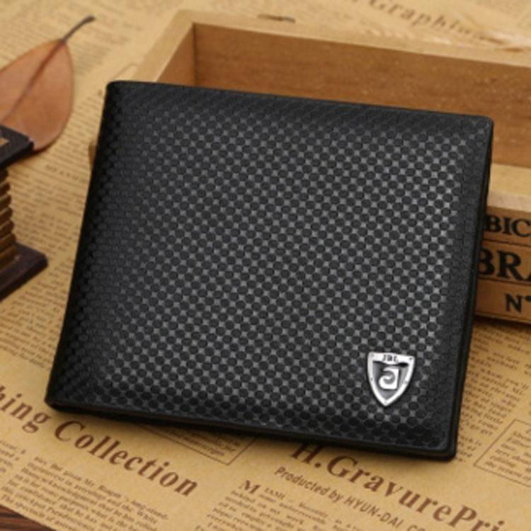 1db38add26 Wallets Gifts For Men Designer Wallet Mens Leather Wallet New Man Fashion  High Quality Black Luxury Wallets Men Short Round Pattern 3266 1 Western ...