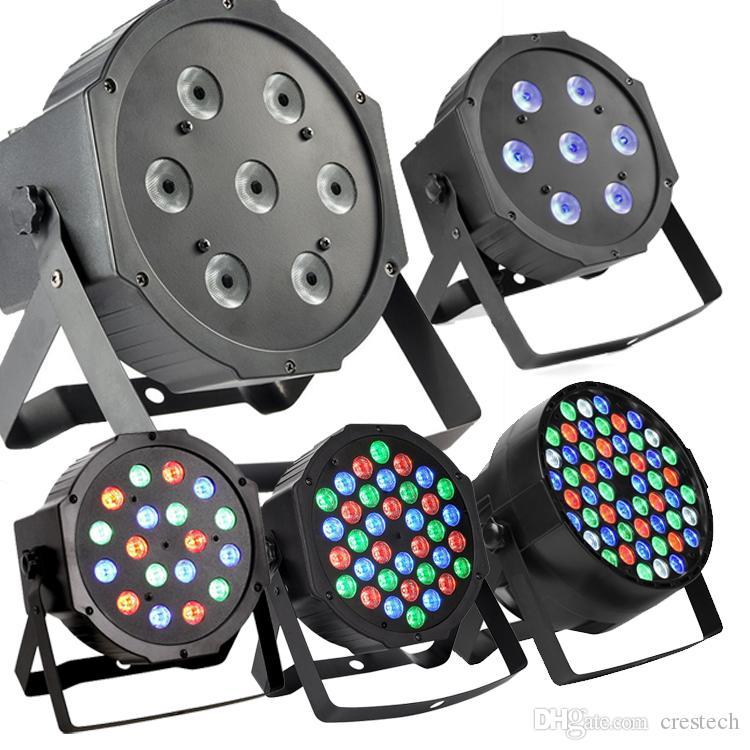 RGBW 54 * 3W LED Gleichheit-helles Stadium DMX 512 führte Stadiumslicht 8 Kanal-flache geführte Gleichheit kann Disco-Projektor Stadium beleuchten