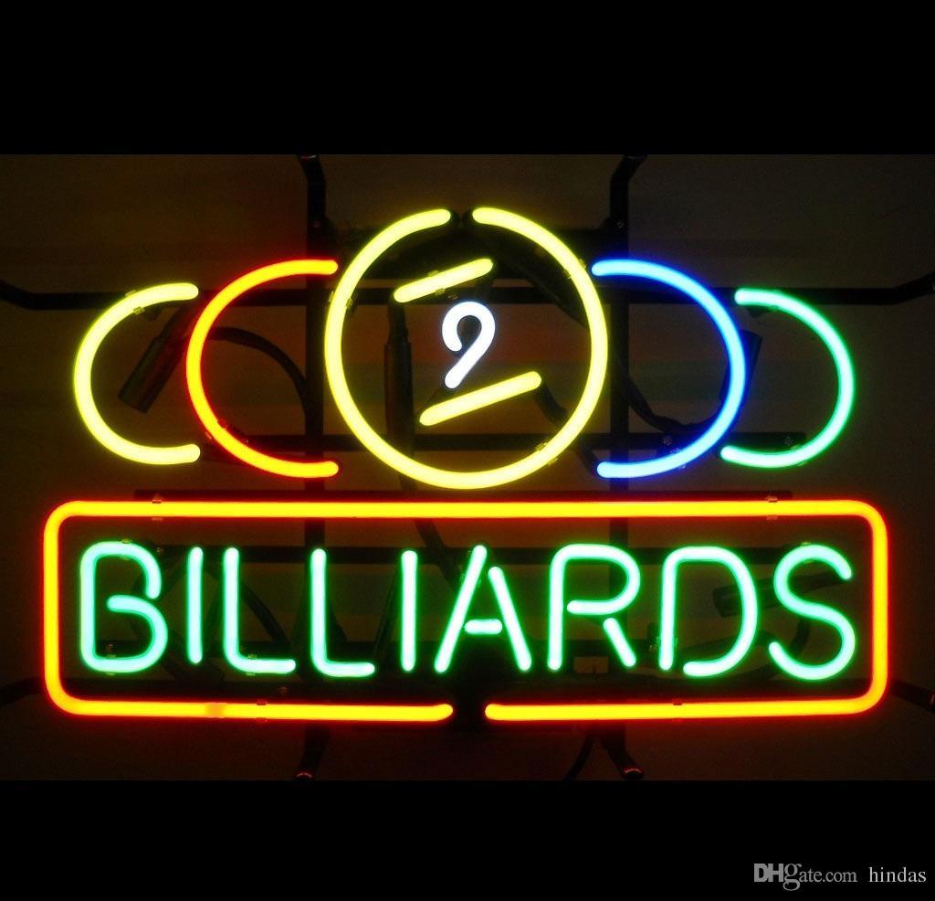 New nine ball snooker billiards pool room beer Cave Neon Light Sign 24x20
