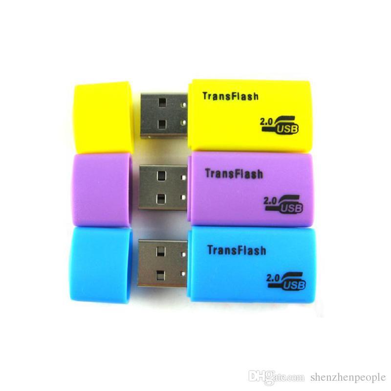 2000pcs high quality NEW TYPE E USB TRANSFLASH MICRO SD TF MEMORY CARD ADAPTER READER 1gb 2gb 4gb 8gb 16gb 32gb DHL FEDEX free