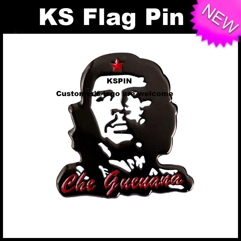 Che Guevara Metal Badge Pin 10pcs molto Spedizione gratuita XY0064