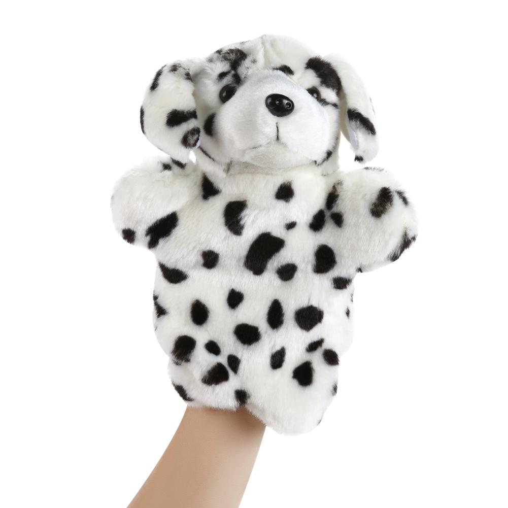 Dog Hand Puppet Adorable Cartoon Dog Hand Puppet Children Educational Soft Doll Animals Toys for Baby Kids