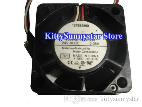 4cm 1606KL-04W-B40 1606KL-05W-B39 Ventilador inversor 24V 0.06A 127E83860, 1606KL-05W-B59 Ventilador convertidor 24V 0.08A 3Wire FH6-1742