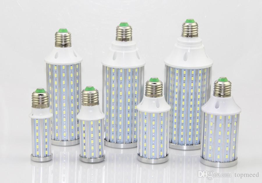 Epacket NEW 도착 주도 옥수수 빛 E27 E14 B22 SMD5730 85-265V 10W 15W 20W 25W 30W 40W 60W 80W LED 전구 조명 램프