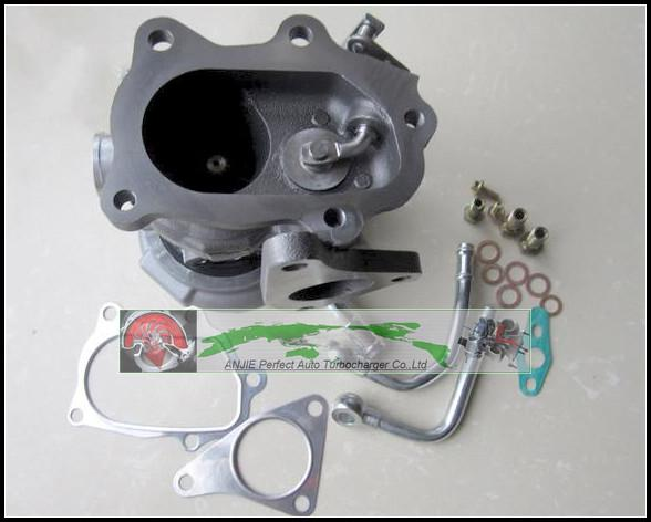 Turbo For SUBARU Forester Impreza 1998- 58T EJ20 EJ205 2.0L 211HP TD04L 49377-04300 14412-AA360 Turbocharger with gaskets pipe (4)