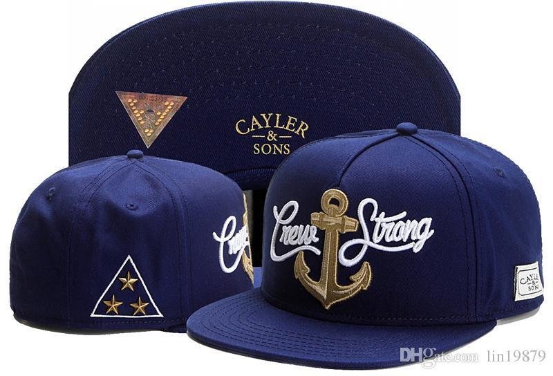 2017 Nouveau Cayler Fils ÉQUIPAGE AMOUR STONG Baseball Caps Hommes Femmes Snapback Os Marque Chapeaux Pour Hommes Sun Gorras Casquette Chapeu