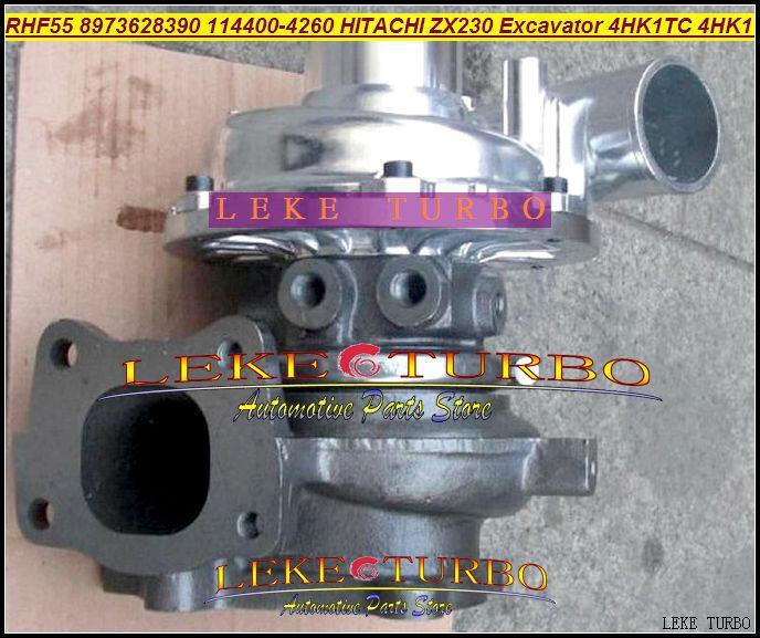 RHF55 ZX230 Excavator 4HK1 4HK1TC 4HK1-T 8973628390 114400-4260 Turbo turbocharger (2)