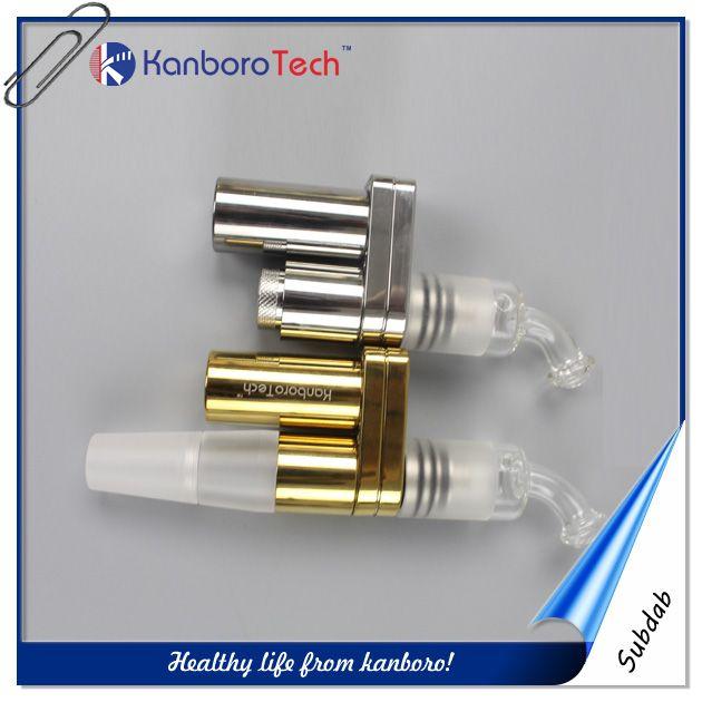 Le plus petit Elektronik Sigara 510nail cire Vaporizer Vape portable Box Mod 510nail avec 18350battery pour Shisha / Hookah.