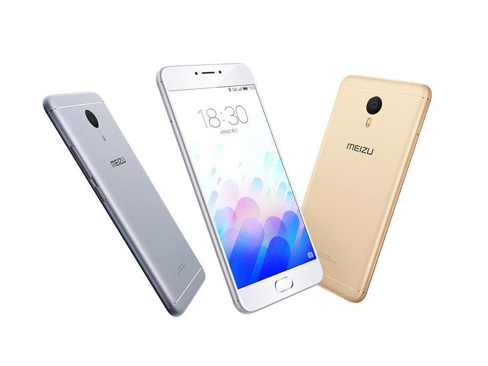 """Sbloccato originale Meizu Meilan Nota3 M681Q Smart Phone Flyme Helio P10 Octa Nucleo 2GB / 3GB di RAM 16GB / 32GB ROM 5.5"""" 13.0MP 4100mAh Android Phone"""