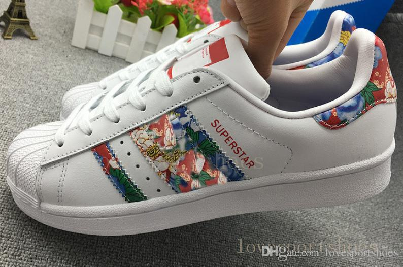 Image of ADIDAS SUPERSTAR SPLASH PAINTS RAINBOW CLICK