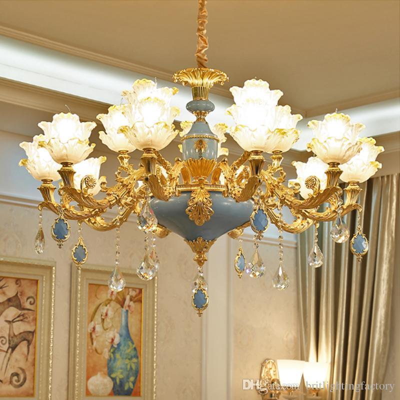 Moderne Wohnzimmerleuchter-Penthausbodenlobby der hängenden Lampe des Villa Hotel-Einkaufszentrumrestaurantkristallleuchter-Schlafzimmers