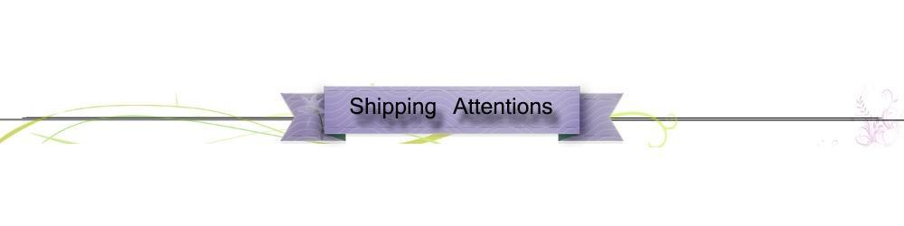 Shipping Attentions