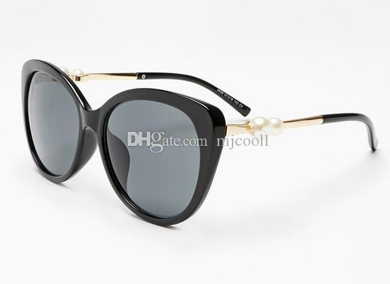 New Pearl Big Frame Sunglasses 5339 Fashion Sunglasses Donne