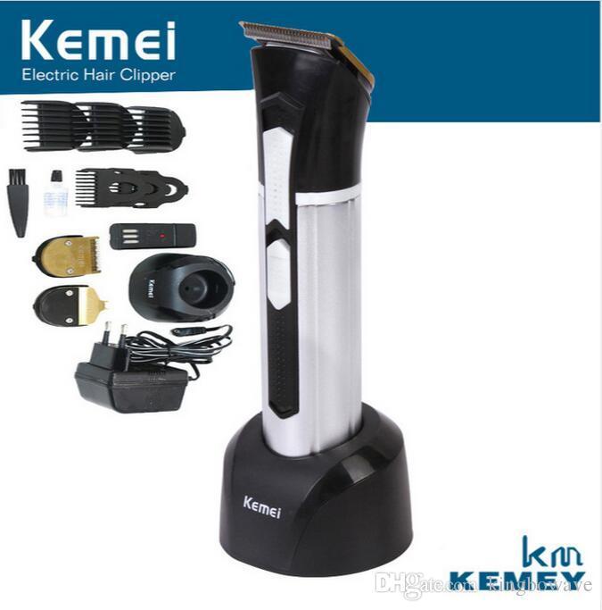 KM-3006 3 in 1 lama di titanio professionale tagliatore di capelli strumenti elettrici Precisione Cordless Hair Trimmer per uomo o bambino