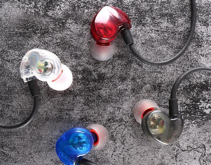 KY-111 écouteurs intra-auriculaires stéréo mode sport running casques studio musique écouteurs avec micro mains libres dans la boîte