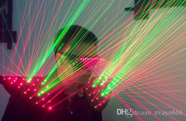 Красный, зеленый, двухцветный лазерная Майка лазерная производительность одежда производительность одежда DJ бар ночь лазерная сценические костюмы