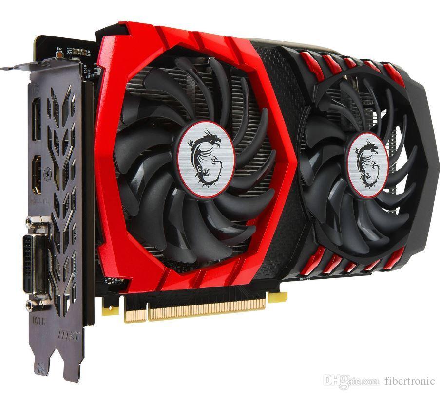 MSI GTX 1050Ti GAMING X 4G 128BIT GDDR5 PCI-E 3.0 Nvidia Geforce GTX 1050 بطاقة الفيديو الرسومية HDMI