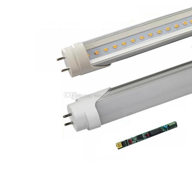 Haute qualité T8 LED Lights Tube 4ft 18W 22W Led Tubes fluorescents ampoules froid naturel blanc chaud AC85-265V