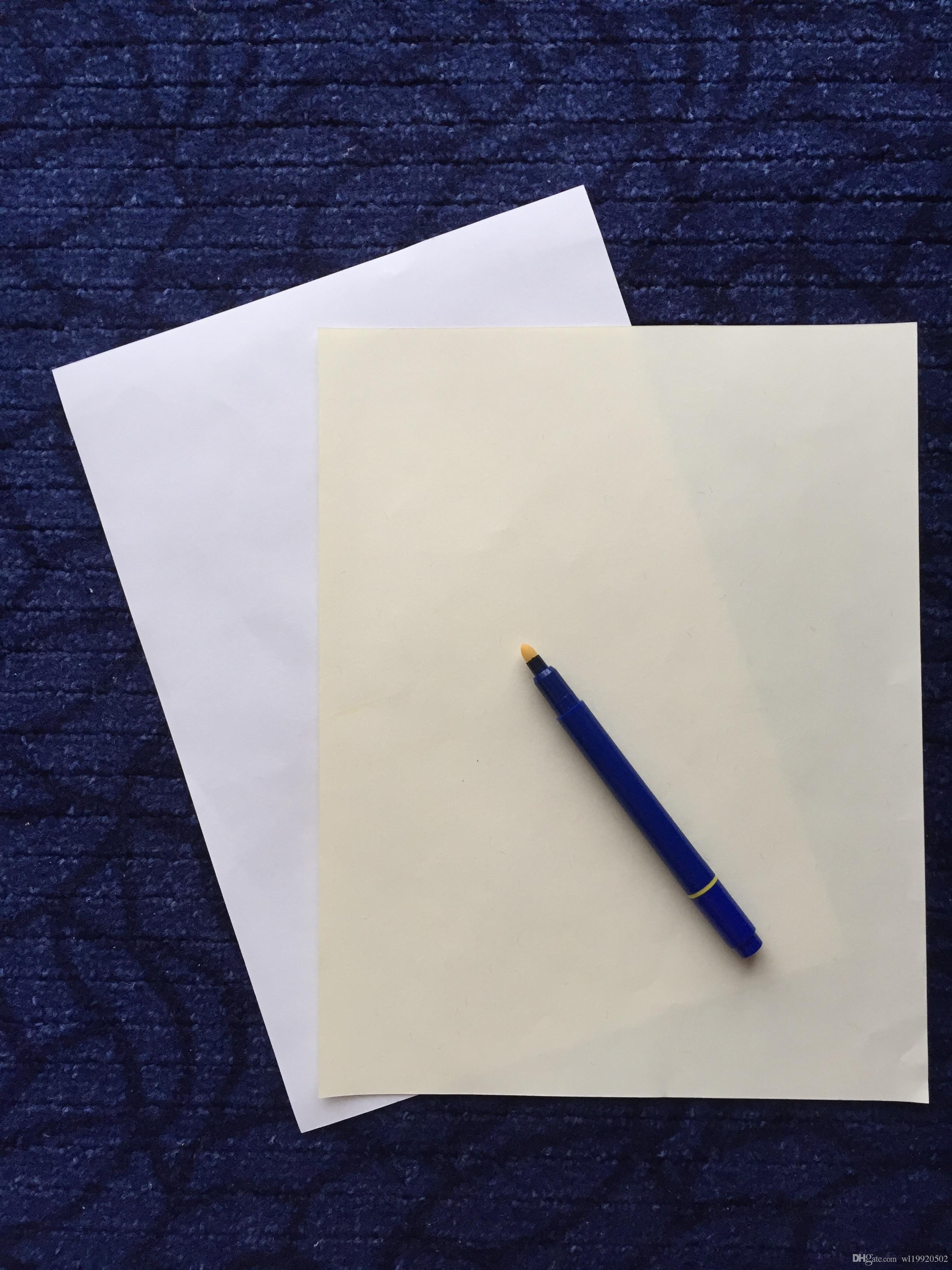 Contratto di carta printinng cotone lino sentire amido acido libero tipi impermeabili liberi a4 dimensioni di colore bianco 100 fogli carta per banconote alta qualità