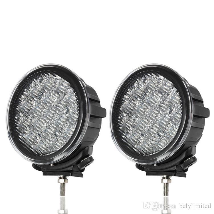 7 pulgadas 90W LED Luz de trabajo Tractor Camión 12v 24v IP67 SPOT Inundación LED Offroad Luz de conducción LED Luz de niebla seckill 55w 75w