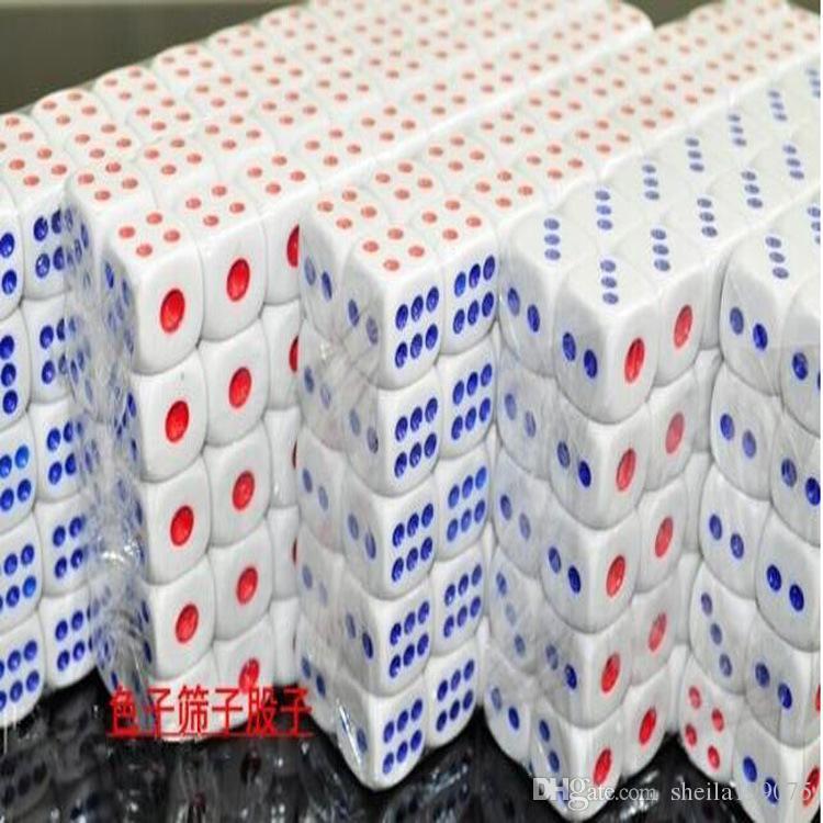 Разнообразные пластиковые кости ночной клуб бар КТВ развлекательных поставок специальный 100 / мешок