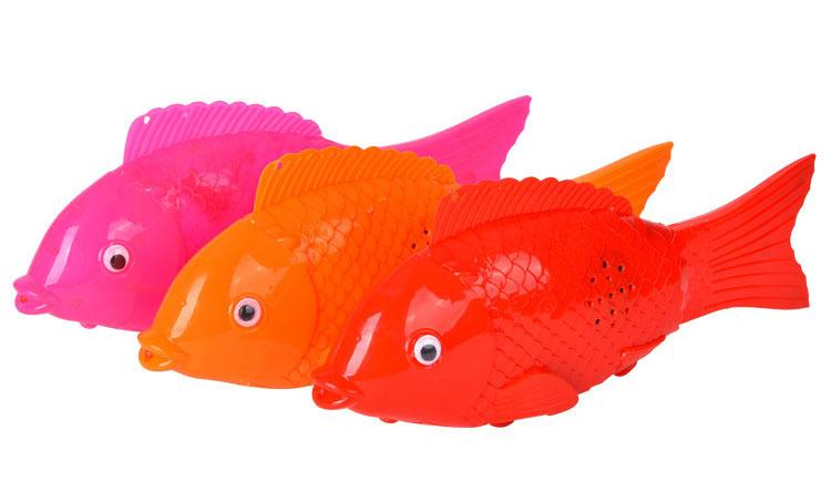 Electric simulation free fish body light strip light have music rocking night market stalls supplies wholesale