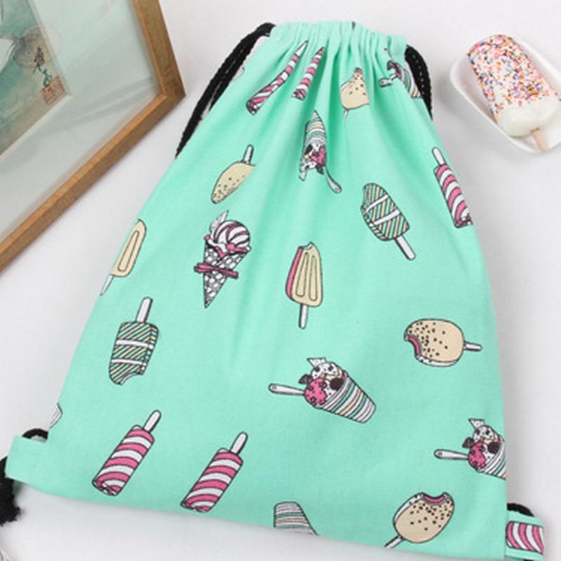 2017 Pineapple Printing Backpack Women Drawstring Bag Watermelon ...