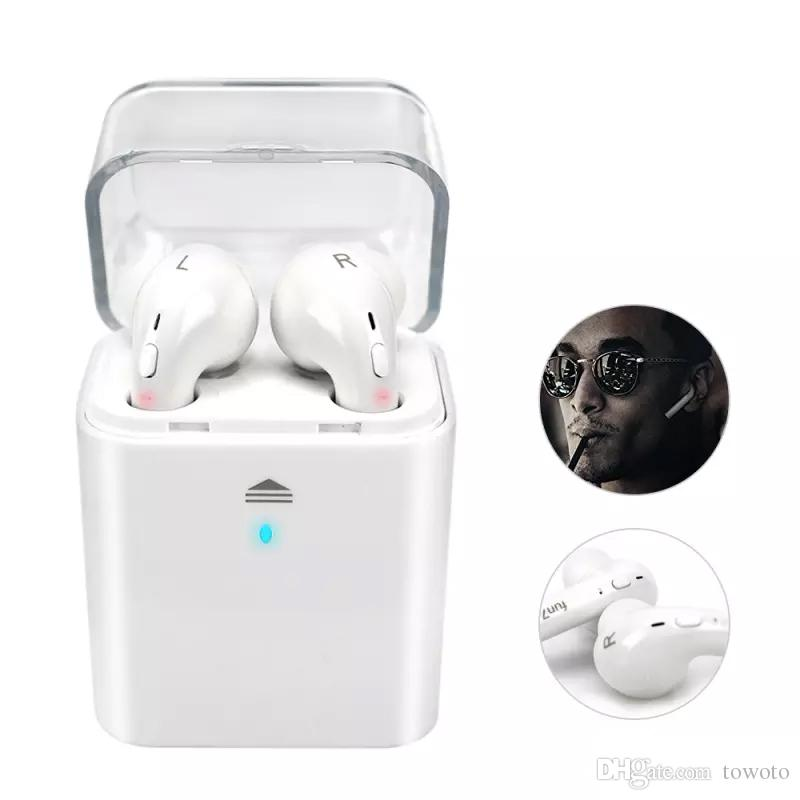 Tws Wireless Bluetooth Earbuds For Apple Iphone 7 Plus Headset Double Twins Airpods Earphones For Android Iphone Universal Headphone Towoto Best Earbuds Under 50 Best Headphones Under 50 From Towoto 39 6 Dhgate Com