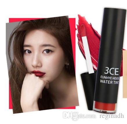 3CE Waterproof Lip Stick Moisturizer Matte Lipsticks Long-lasting Easy to Wear Korean Cosmetic Nude Makeup Lips Wholesale 2016 New Brand