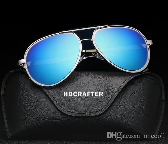 Sonnenbrille Fahrfahrer Spiegel Fischerei Sonnenbrille Brille Neue Männer Polarisiert E023 NMGPM