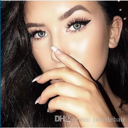 15 Pares de Maquillaje Suave Cruz Gruesa 3D Pestañas Falsas Ojo de Seda de Lujo Pestañas Pestañas Falsas Hechas A Mano Naturales Pestañas populares
