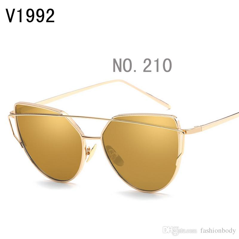 sunglasses for women korea oval face men women case side shields china colour glass wholesale brand retro Uv protection support with box new