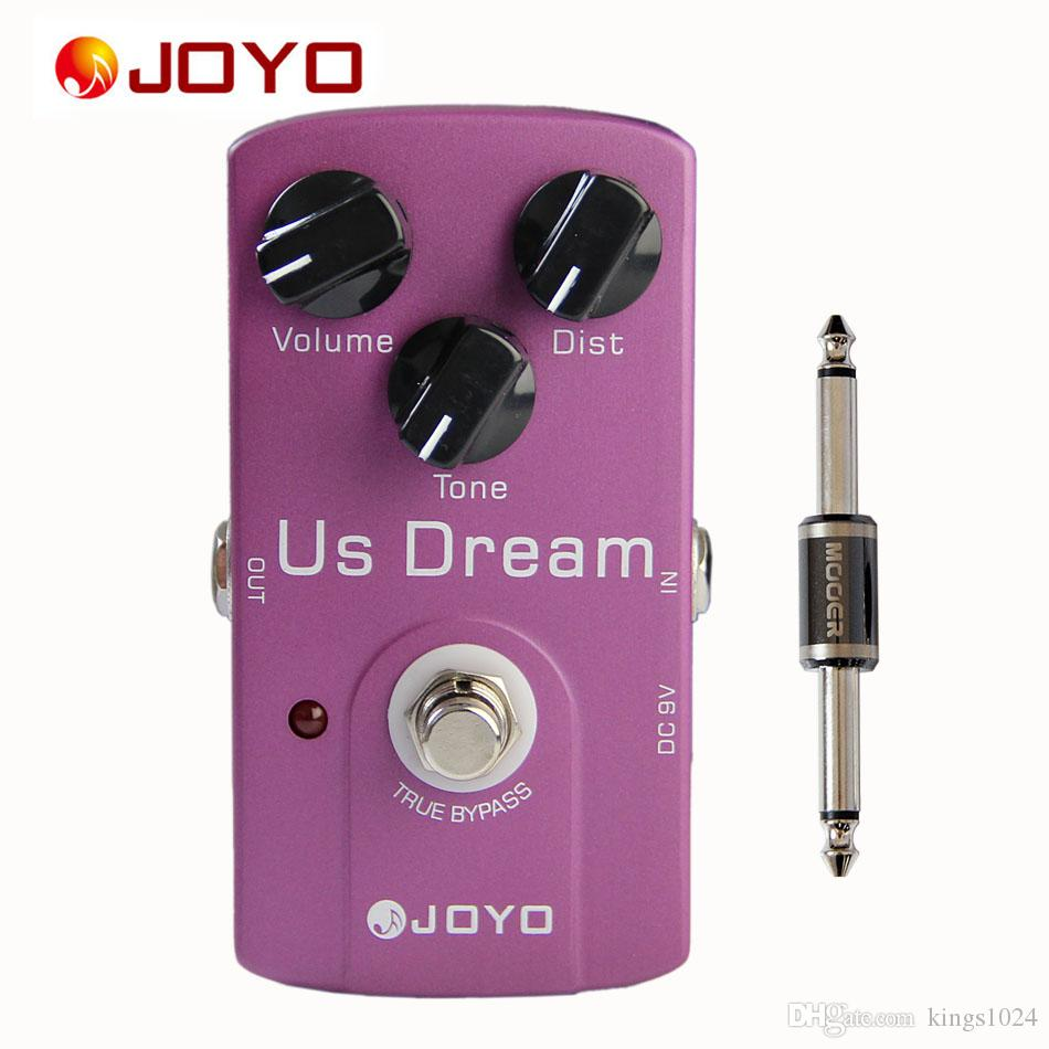 JOYO JF-34 US Dream AMP Distortion Simulation True Bypass Pedal with 1 Pedal Connector guitar accessories