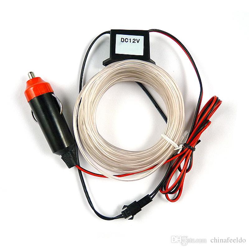 LEEWA 3-meter 8-color Flexible EL Neon Glow Lighting Rope Strip + ...