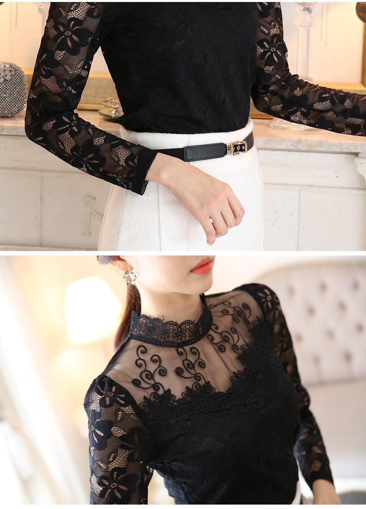 lace blouse 523