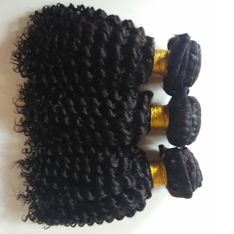 Brazilian Curly Human Hair Weaves 3 Bundles Unprocessed Grade Best Quality Kinky Curly Extensions 8-26inch Indian Human Hair weft DHgate