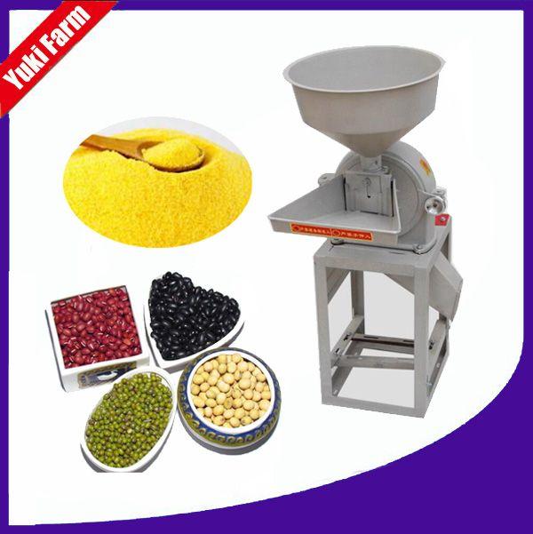 9FZ concasseur à mâchoires piment machine de meulage prix de la machine de meulage Herb Grinder Piment Puissance prix de la machine grains broyeur de maïs