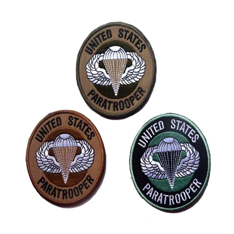 VP-144 UNITED STATES FALLSCHIRMJÄGER 3D bestickt Pacthes mit Magic Tape Special Forces Patches spersonality Tactical Patch