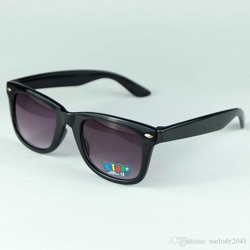 12 Farben aktualisierte bunte Süßigkeits-Kindersonnenbrille-heiße Verkaufs-klassische Kind-Sonnenbrille mischte 8Colors 20pcs freien Versand
