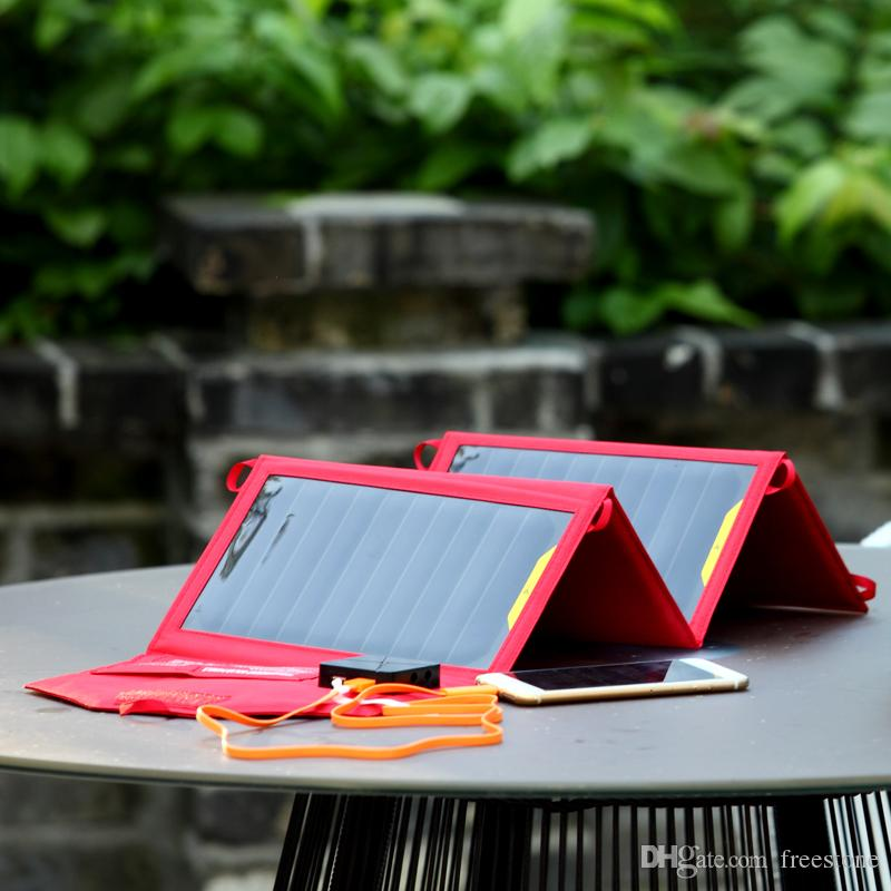 Red 20W Highefficiency Portable bag 2usb 5V 2.1A 1 DC 12V 5521 type port super thin waterproof charger For Tablet PC Smart phones E-book ...