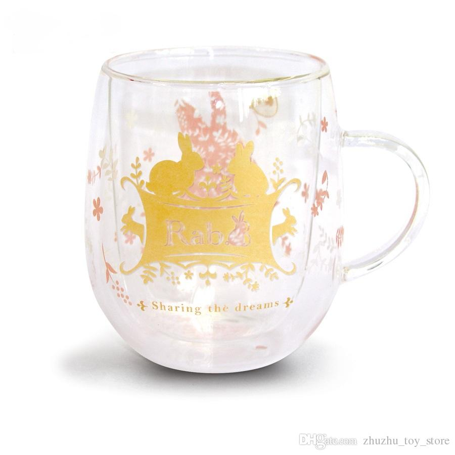2017 promotional gifts advertising coffee mug handle glass cup