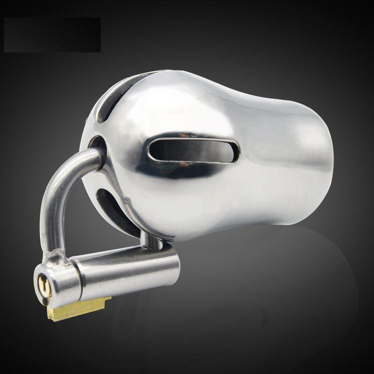 Titanium D Ring PA Lock Glans Piercing Male Chastity